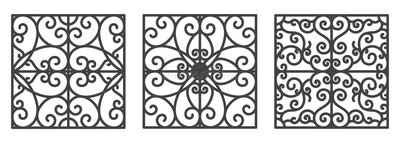 Art- Deconahtlose mit Blumentapete stock abbildung
