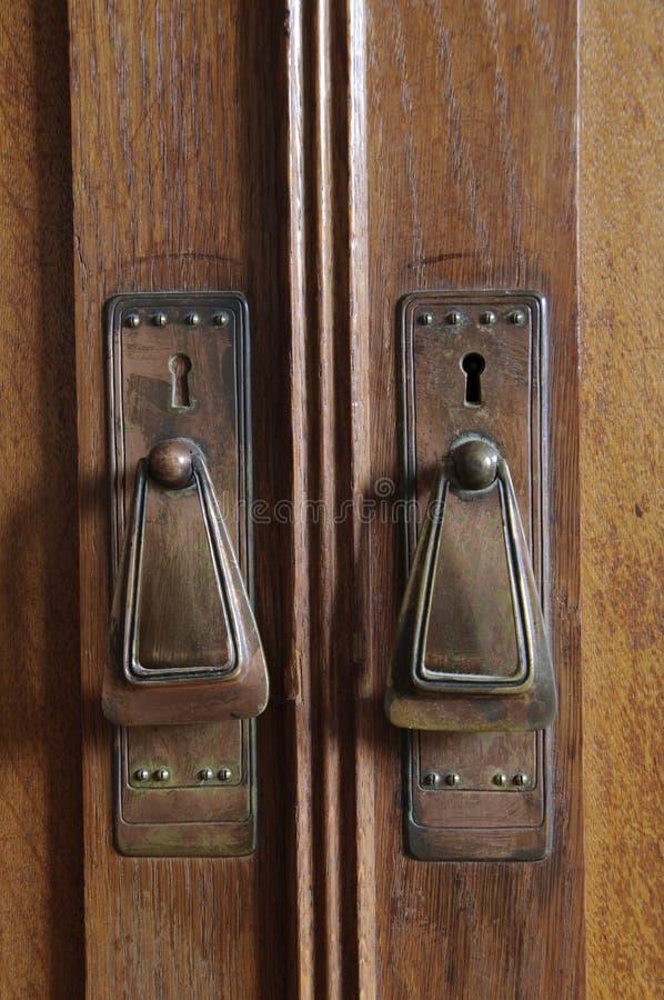 Art DecoTür handel stockfoto