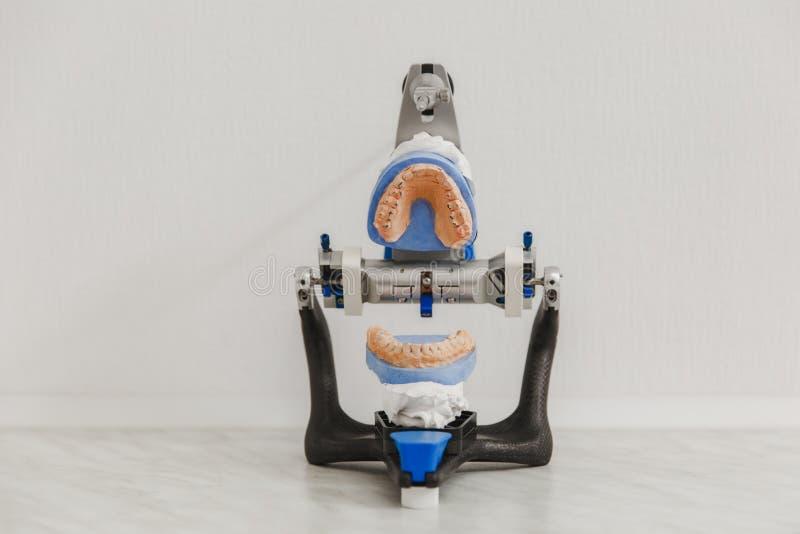 Art dentaire, clinique dentaire de traitement photos libres de droits