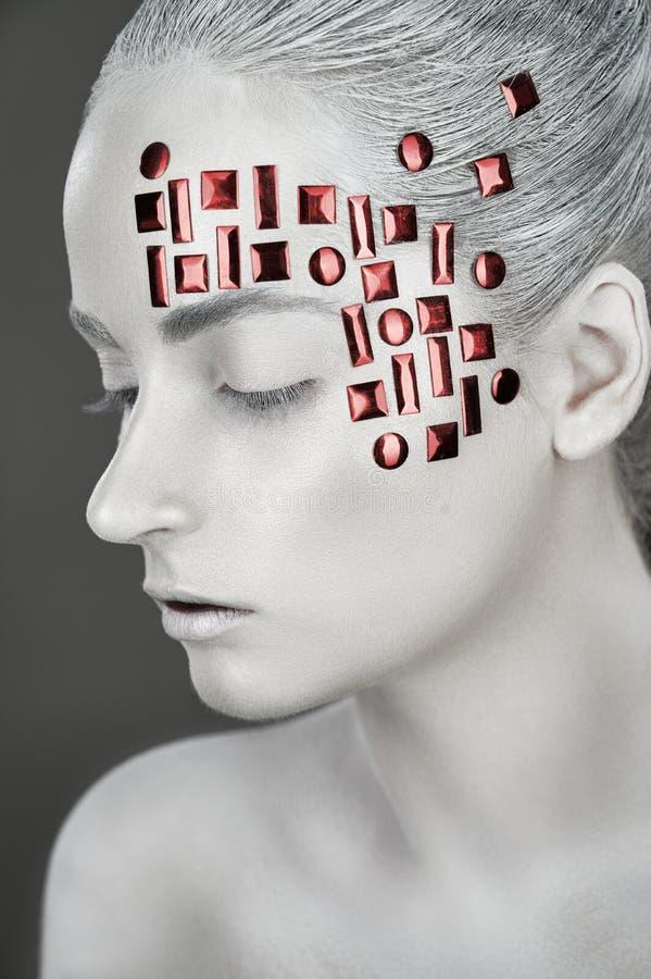 Art design makeup stock photography
