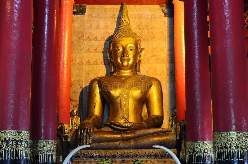 Download Art Detail, Wat Prathat Changkam, Nan Province Thailand Stock Photo - Image: 43277604