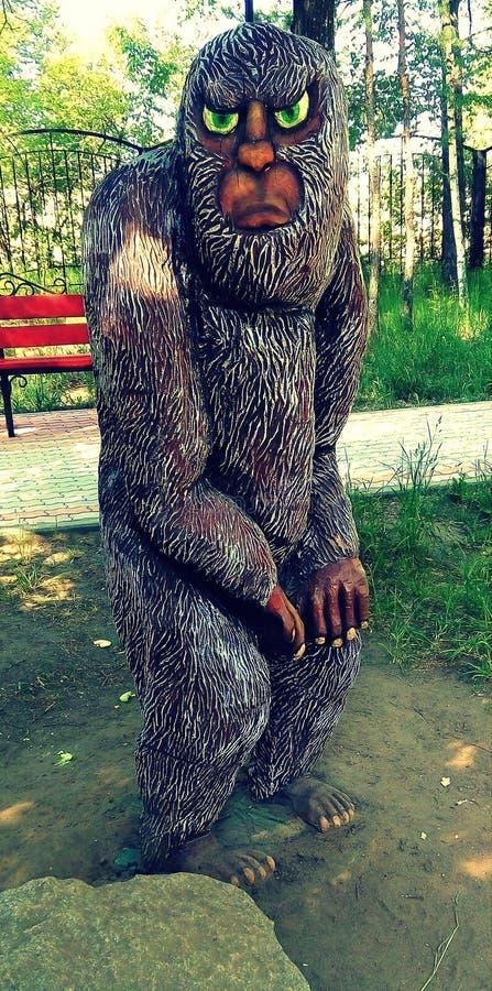Art en bois image libre de droits