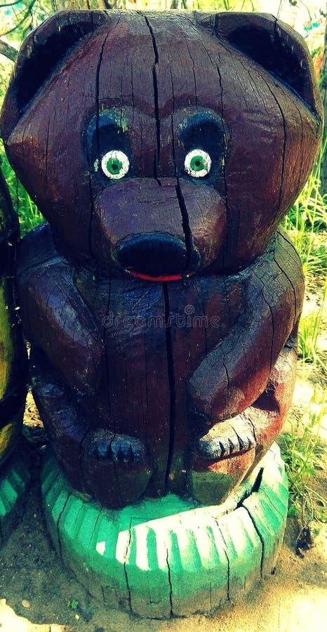 Art en bois photo libre de droits