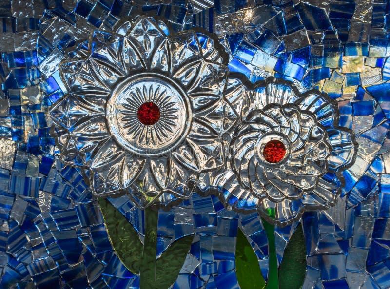Art en verre souillé image libre de droits