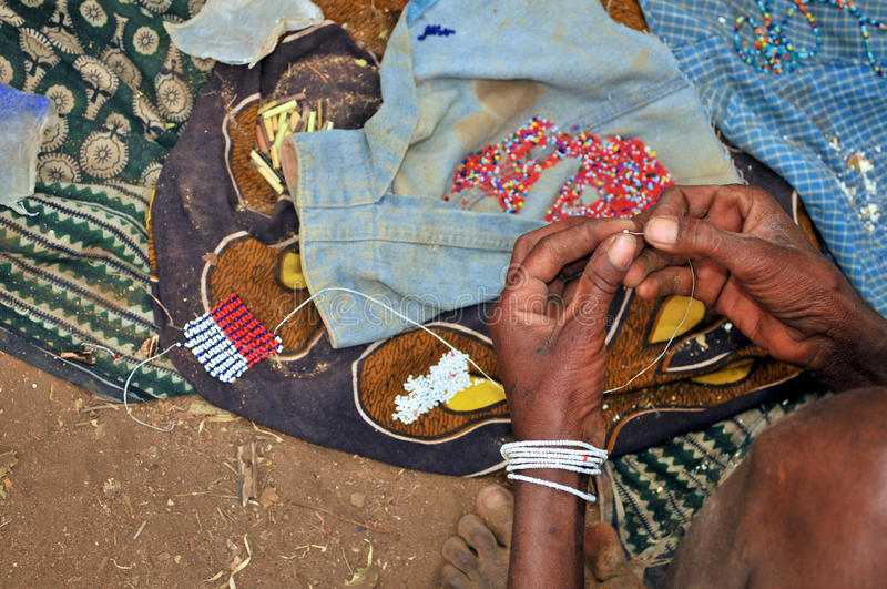 Art et métier de la Tanzanie image libre de droits