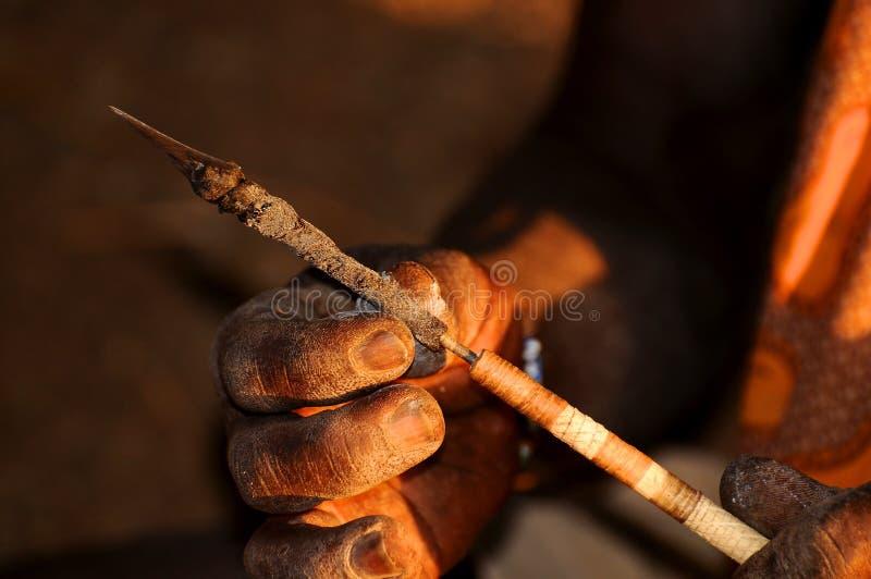 Art et métier de la Tanzanie photos libres de droits