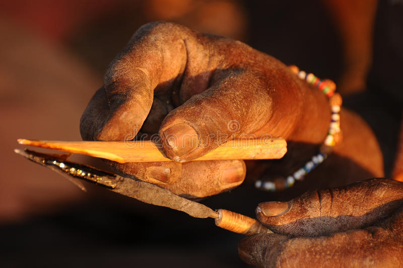 Art et métier de la Tanzanie images stock
