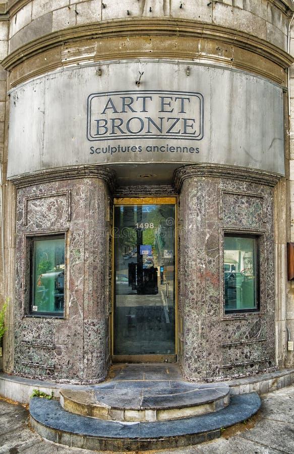 Art et sculptures en bronze vieilles images stock