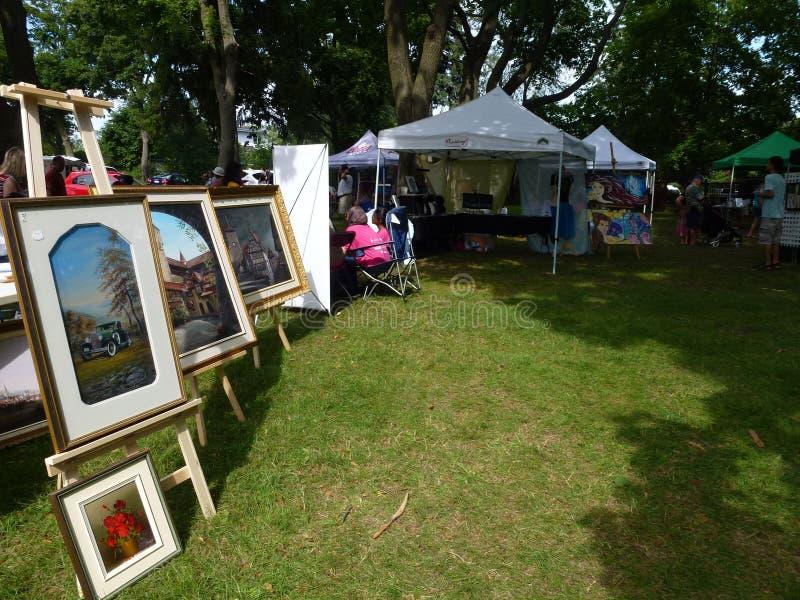 Art Exhibition photos stock