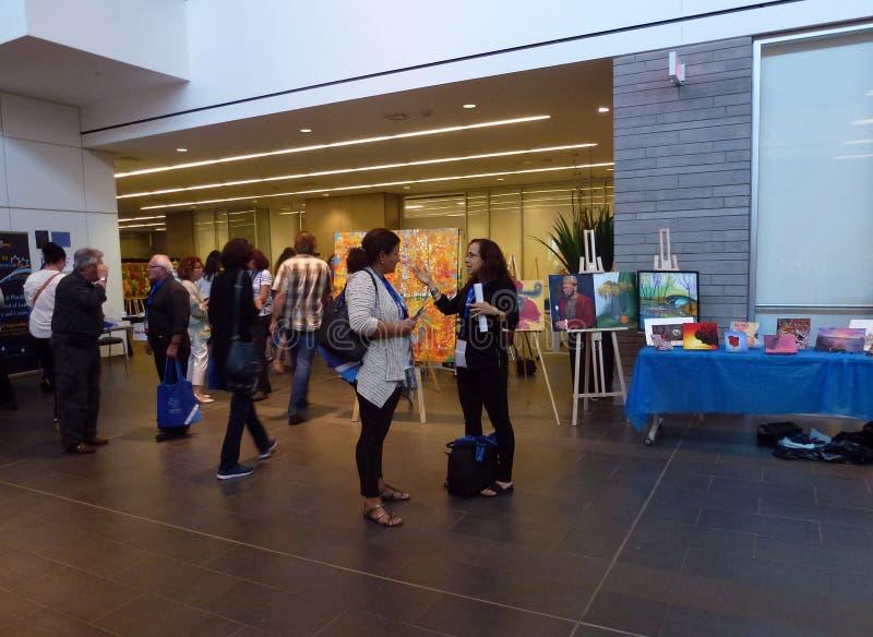 Art Exhibition image libre de droits