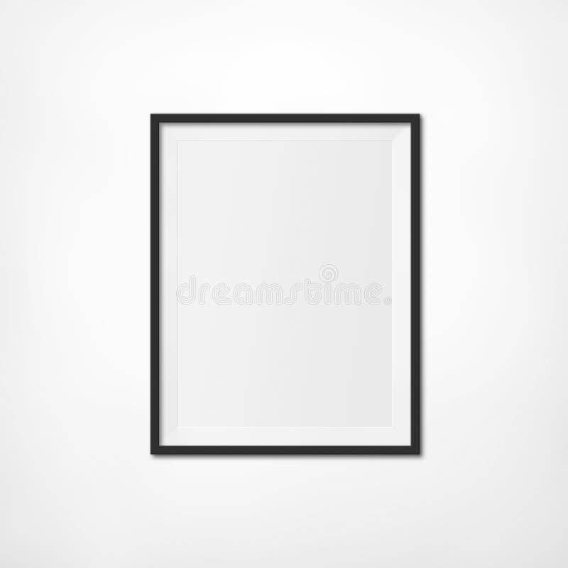 Art Exhibition Photo Frame fotografia de stock