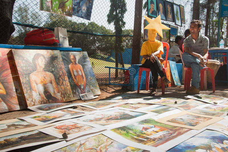 Download Art fair editorial stock image. Image of frames, artistic - 19803384