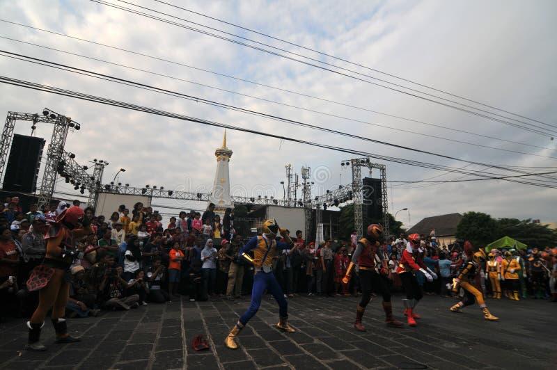 Art Festival em Yogyakarta, Indonésia foto de stock