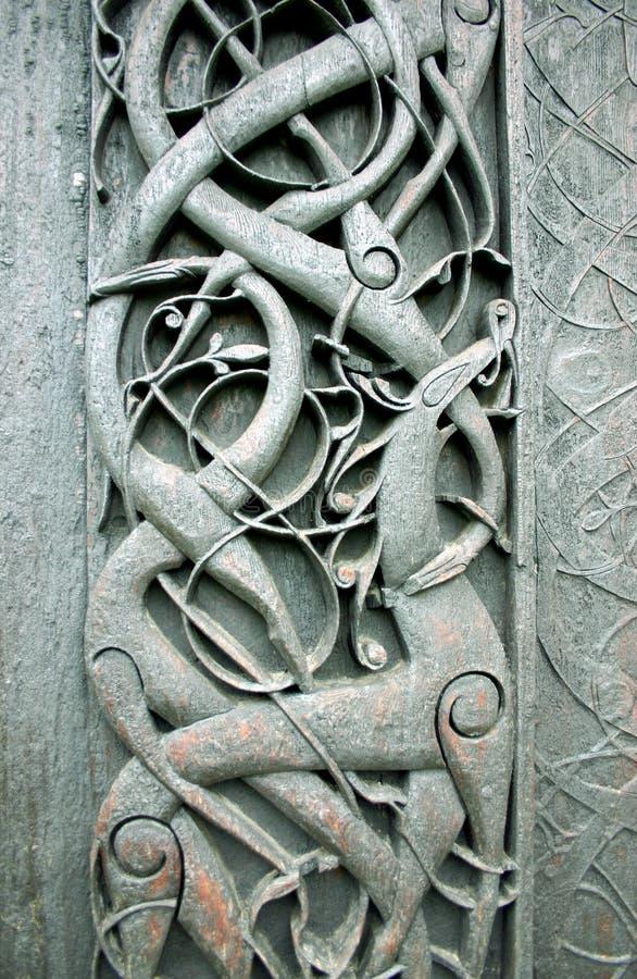 Art folklorique norvégien photos stock