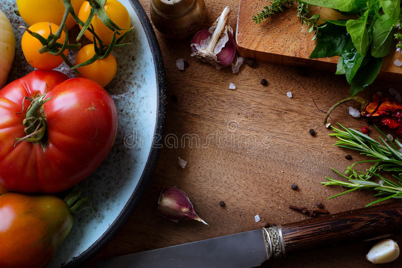 Art food recipes. Art food and cooking background royalty free stock photos