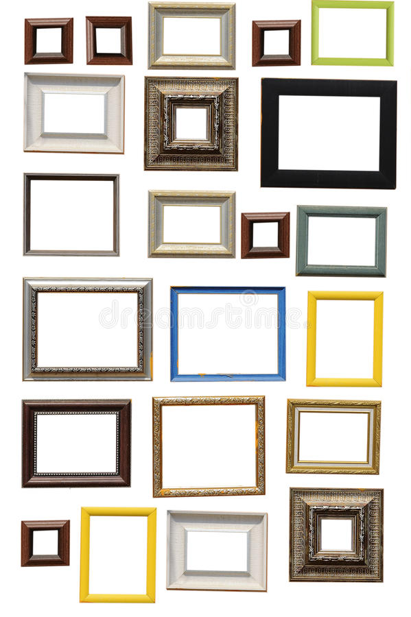 Art frame royalty free stock photos