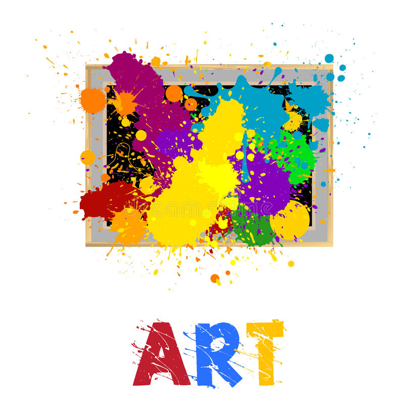 Art frame vector illustration