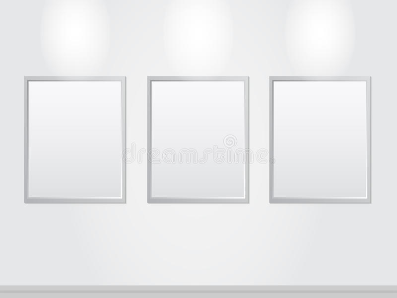 Download Art Gallery stock illustration. Image of empty, elements - 29142457