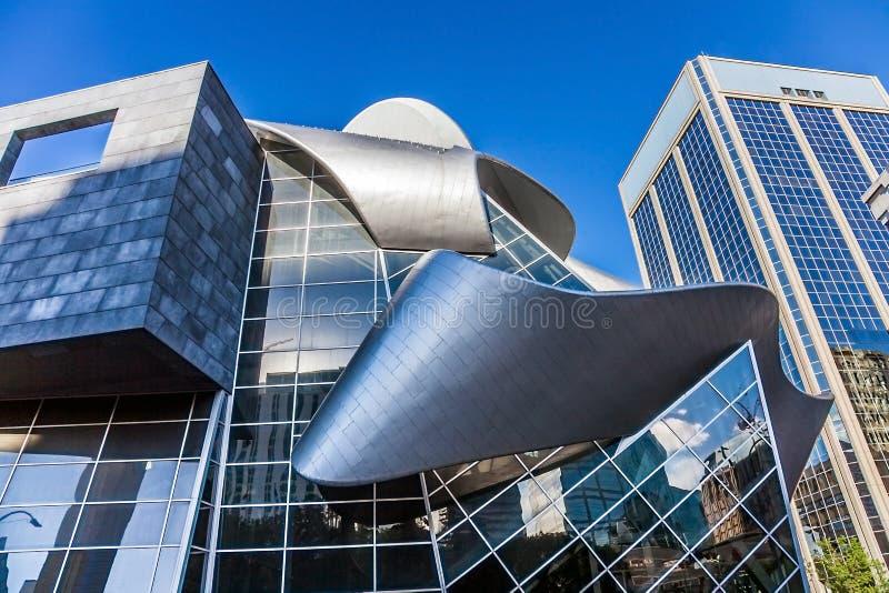 Art Gallery de Alberta em Edmonton o 25 de junho de 2018 foto de stock