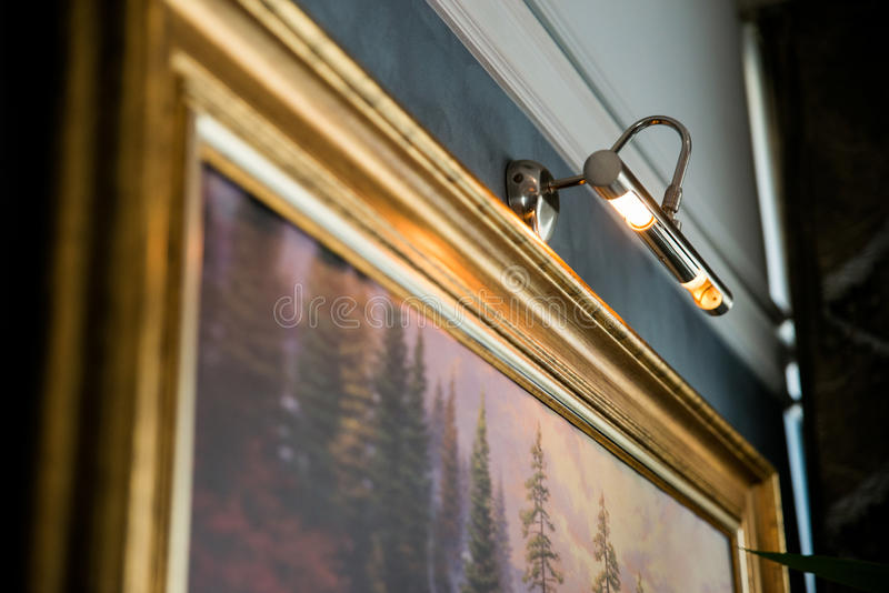 Art Gallery Display fotografia stock