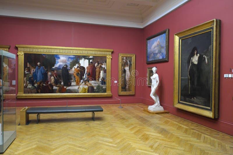 Art Gallery Exhibition fotografia stock