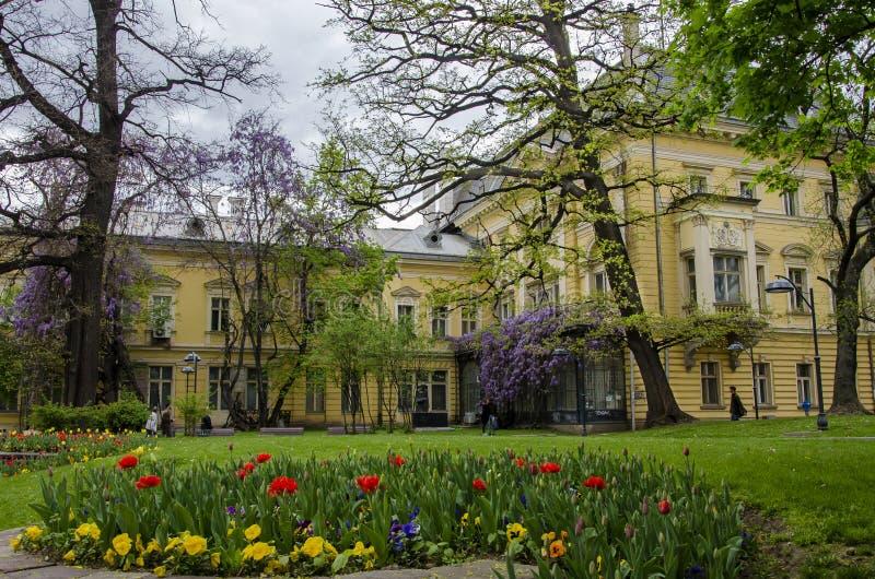 Art Gallery nazionale a Sofia, Bulgaria fotografia stock libera da diritti