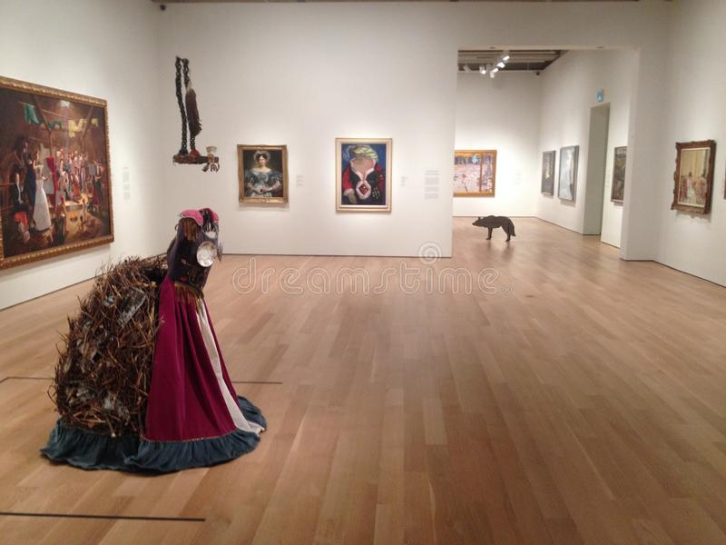Art Gallery Of Ontario à Toronto images libres de droits
