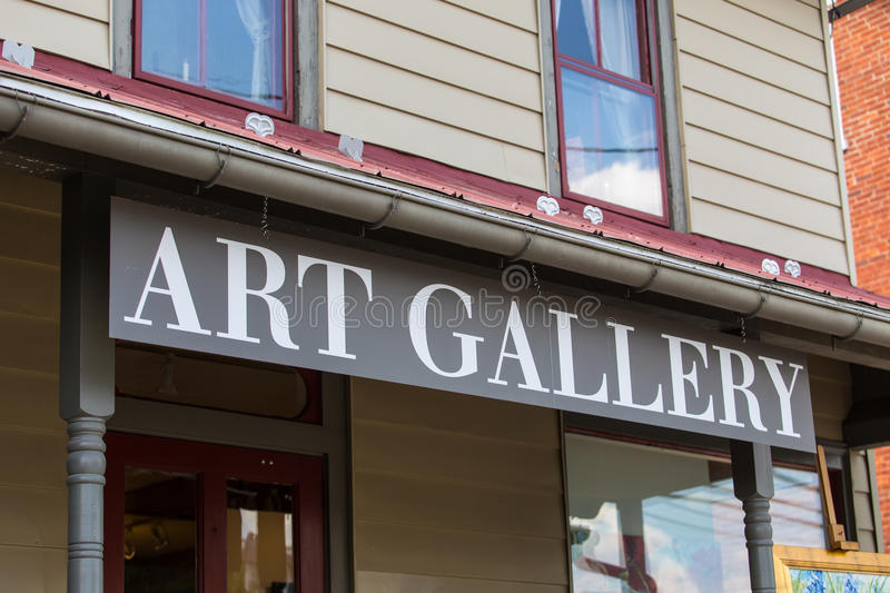 The Art Gallery stock photography