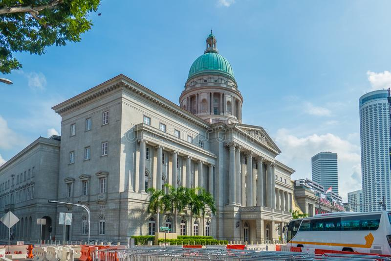 Art Gallery In Singapore nazionale fotografia stock libera da diritti