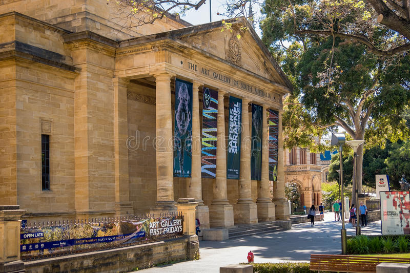 The Art Gallery of South Australia royalty free stock image