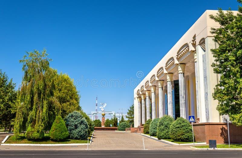 Art Gallery van Oezbekistan in Tashkent stock fotografie