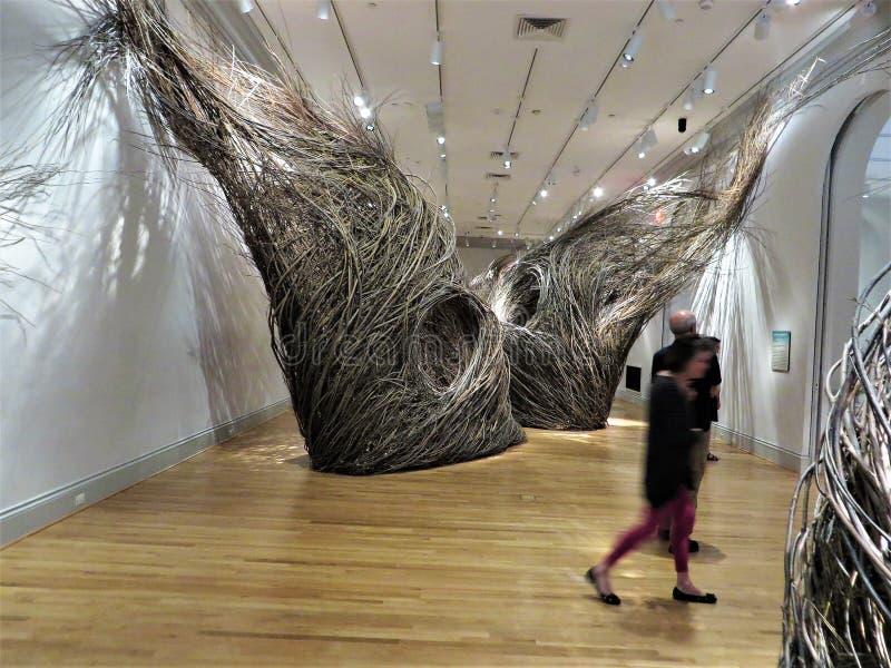 Art gallery, Washington DC stock images