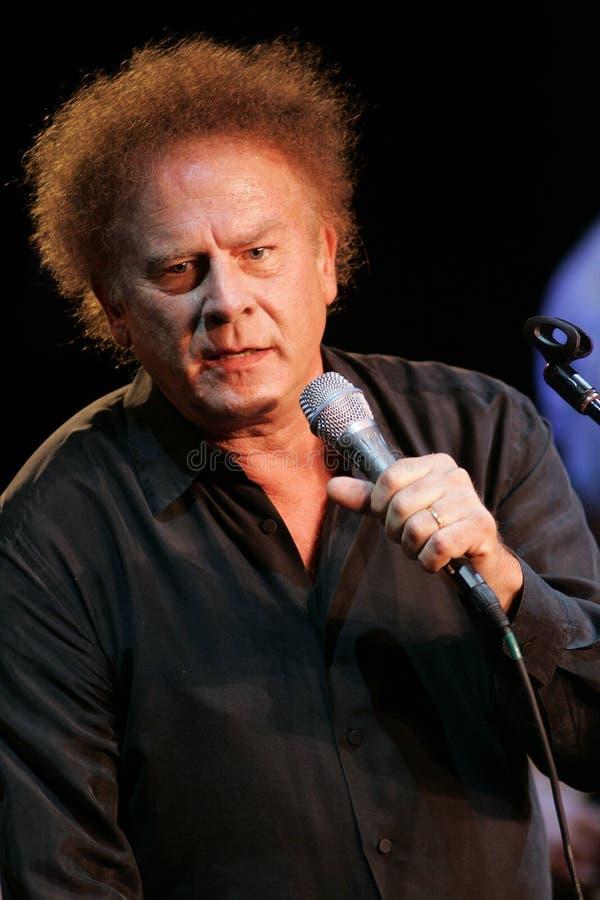 Art Garfunkel exécute de concert photo libre de droits