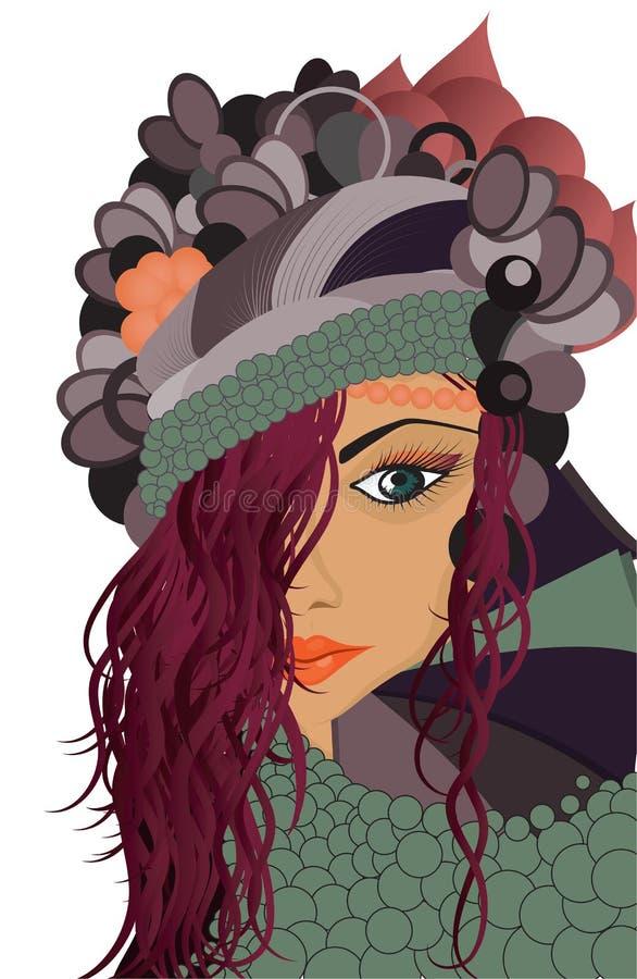 Free Art Girl Stock Images - 21685304