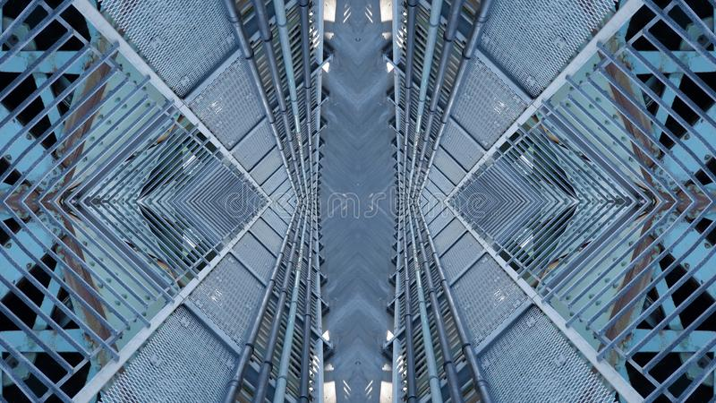 Art graphic design of urban structure royalty free stock images