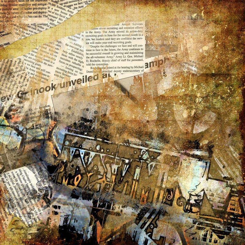 Art grunge illustration libre de droits
