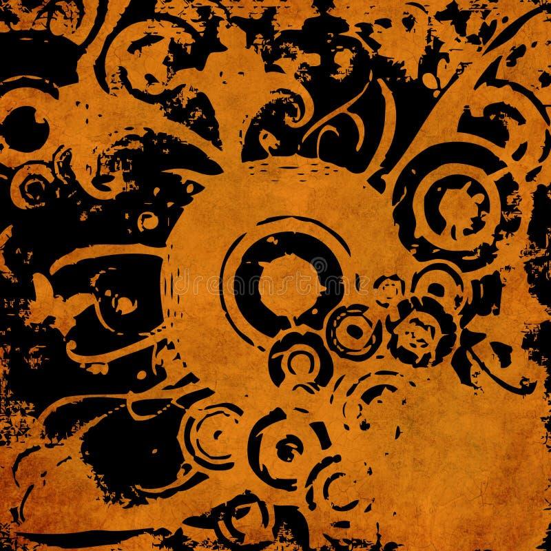 Art grunge vintage background stock illustration