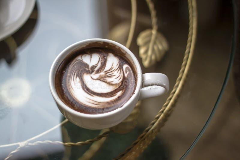 Art Of Hot Cocoa fotografering för bildbyråer