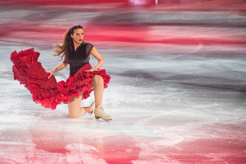 Download Art on Ice 2018 editorial stock image. Image of professional - 111358764
