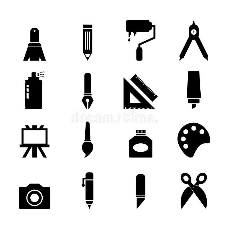 Art Icon stock de ilustración