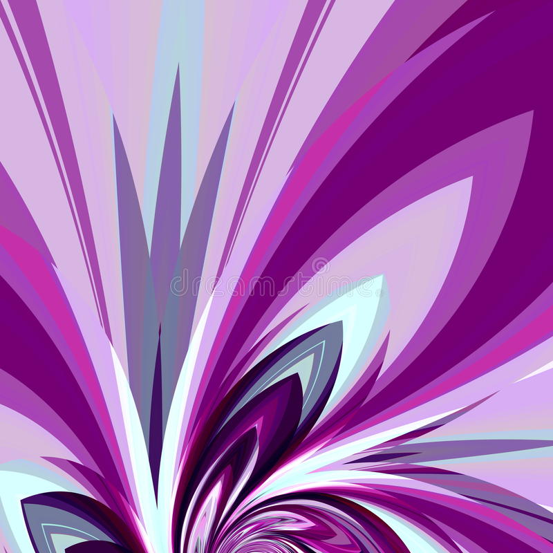 Art illustration design invitation card. Abstract background. Digital fantasy element. Image beautiful flower. Modern stock illustration