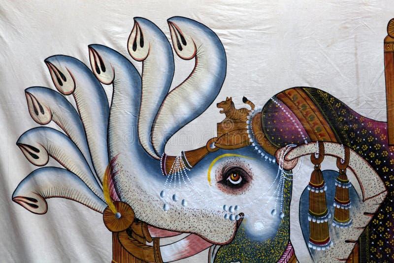 Art indien de mur illustration libre de droits