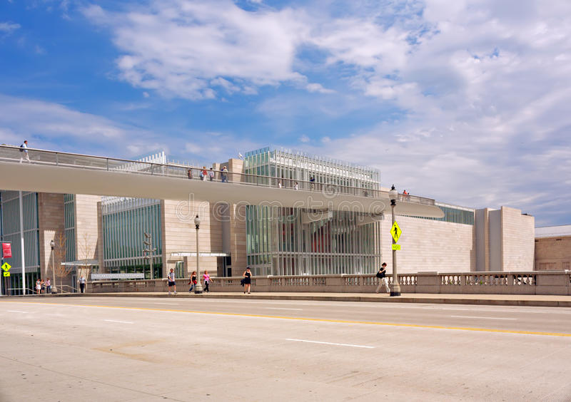 The Art Institute of Chicago stock photography