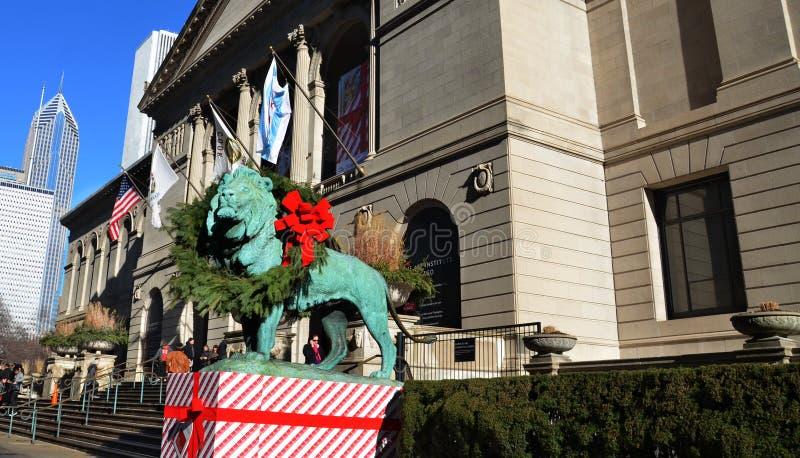 Art Institute van Chicago stock afbeelding