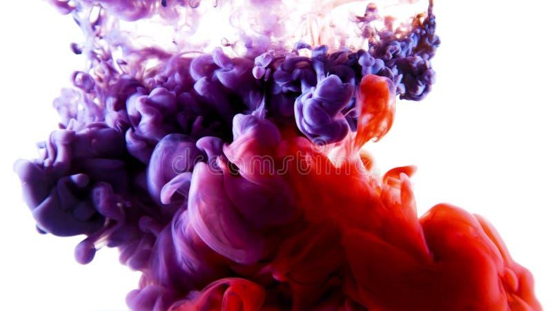 Art liquide coloré photo stock