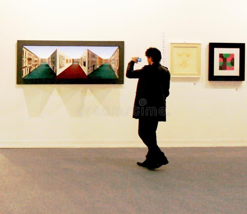 Art maintenant 2010 de Miart photos libres de droits