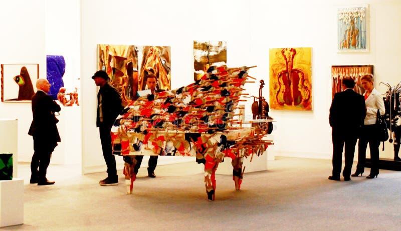 Art maintenant 2010 de Miart photo stock
