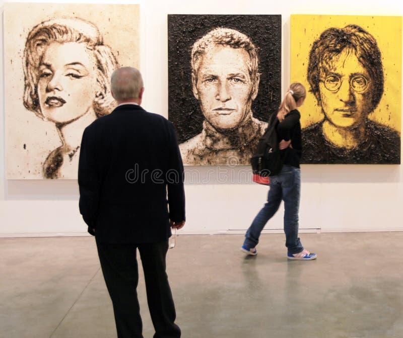 Art maintenant 2011 de Miart images stock
