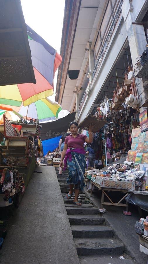 Art Market Ubud Bali fotografia stock