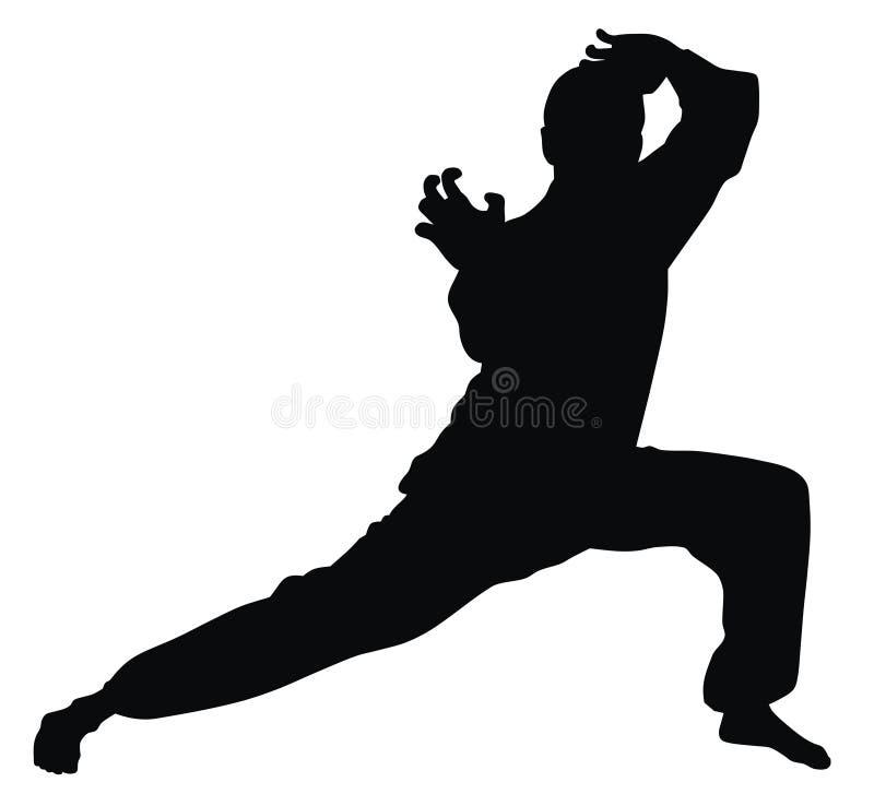 Art martial illustration libre de droits